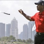 Tiger Woods Has Apologized for the Spitting Incident that Cost Him a Fine