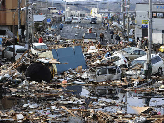 Natural Disaster Videos In Japan