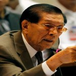 Enrile says Gutierrez will not take a Leave while the Senate hears her Impeachment Case