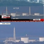 Fukushima Nuclear Power Plant Explosion in Japan