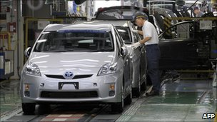 Toyota Corporation announced the decrease in their production