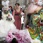 Elaine Davidson as the World's Most Pierced Woman Married in Scotland