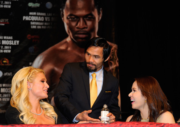 First Meeting of Paris Hilton and Mannny Pacquiao