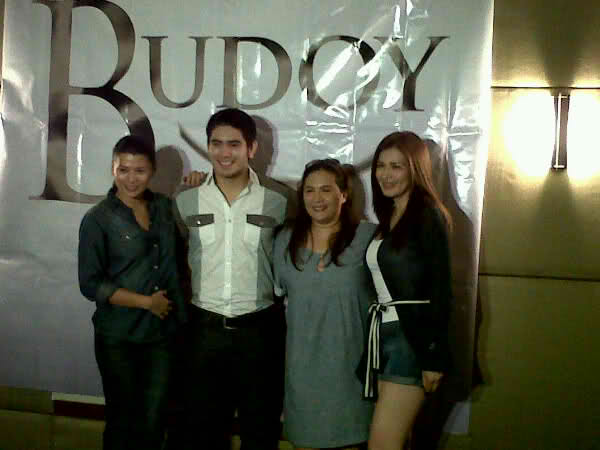 """Budoy"" cast with Gerald Anderson"