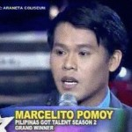 Marcelito Pomoy: Pilipinas Got Talent Season 2 Grand Winner