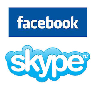 facebook and skype together