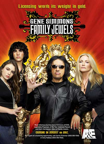 Gene Simmons Family Jewels reality TV show