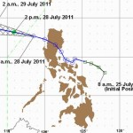 Latest Weather Update from PAGASA at 5:00 AM, July 28