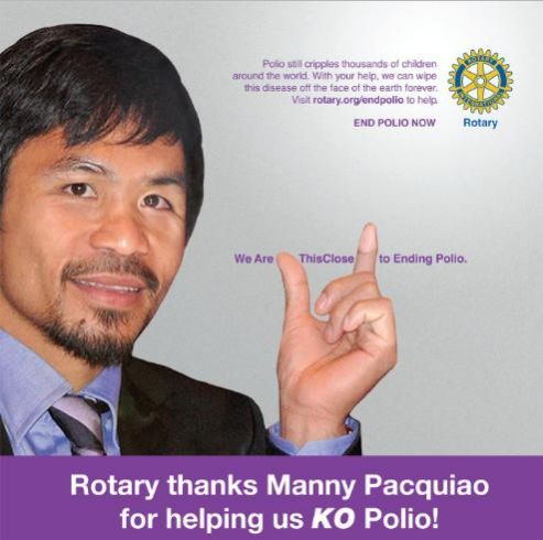 "We are ""This Close"" To Ending Polio Campaign"