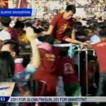 Black Nazarene Stampede Video at Quirino Grandstand