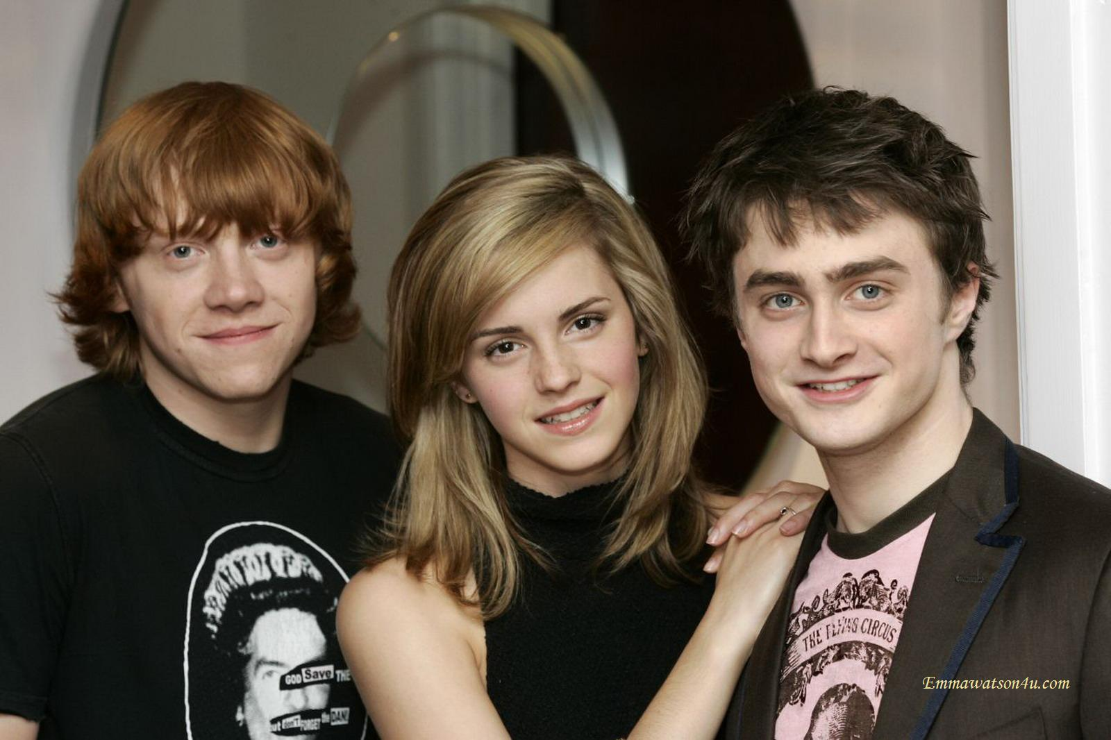 Daneil Radcliffe and Rupert Grint: not 'really' Harry ...