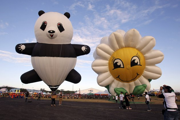 Hot Air Balloons Festival in Clark, Pampanga
