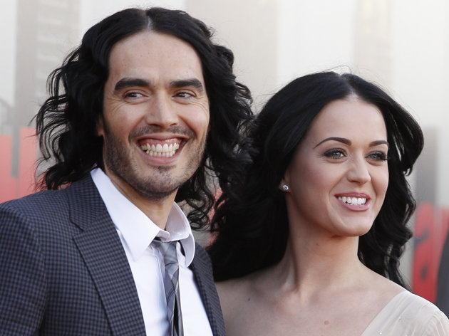 katy Perry and Russel Brand's divorce
