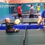 Ping-Pong Baby's Amazing Skills (Video)