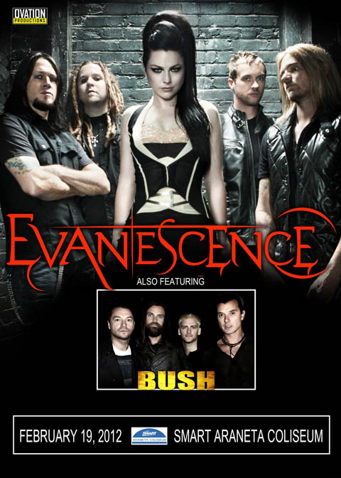 Evanescence and Bush Live in Manila