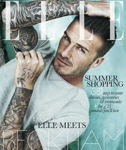 Male Cover on ELLE Magazine July 2012 Issue