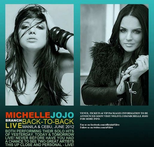 Back to Back Concert Michelle Branch and Jojo in the Philippines