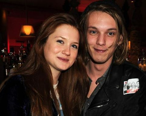 Jamie Campbell Bower and Bonnie Wright Harry Potter's Star ...