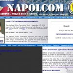 NAPOLCOM Online Application and Scheduling System Unavailable