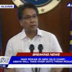 Mar Roxas Appointed as the New DILG Secretary, Abaya as DOTC Secretary