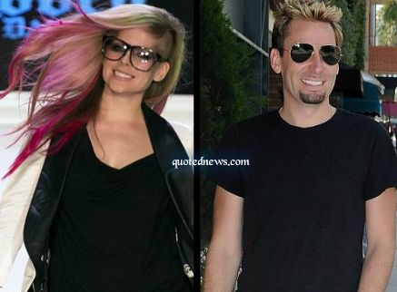 Avril Lavigne Plans to Design her Wedding Gown with Chad Kroeger ...