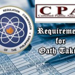 CPA Board Passers Registration and Oathtaking Schedules (Oct. 2013 Passers)