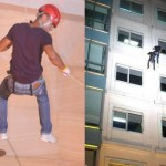 Derek Ramsay Rappelled Stunts for Amazing Race (Video)