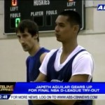 Japeth Aguilar's Final Day of D-League Try-Outs (Video)