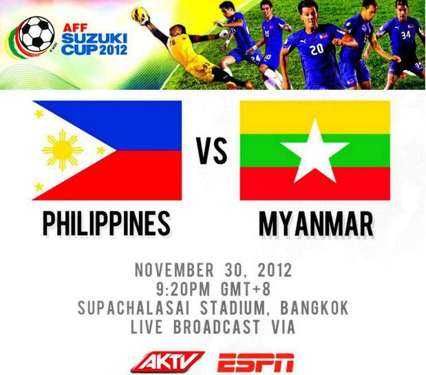 Philippines vs. Myanmar Live Coverage