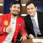 Manny Pacquiao Guest on Jimmy Kimmel Live on Nov. 22