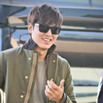 Lee Min Ho on His Way to Manila (Photos)