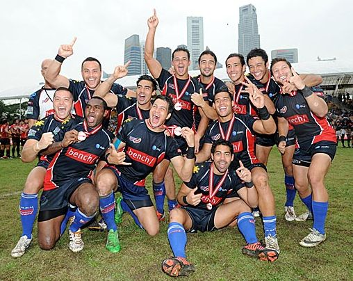 Philippine Rugby Team in HSBC Asian Sevens