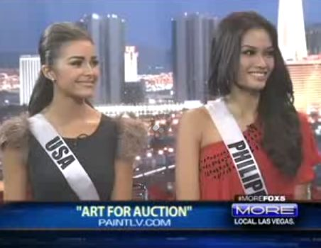 Miss Philippines and Miss USA on Fox