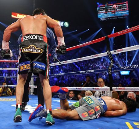 Getty Images Demanded Suspension on Pacquiao