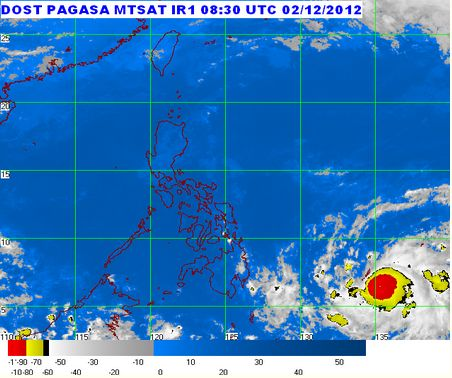 Typhoon Bopha PAG-ASA Weather Updates