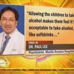 Parents of Children Drinking Alcohol Facing Child Abuse Raps (Video)