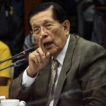 Sen. Enrile Resigned as Senate President