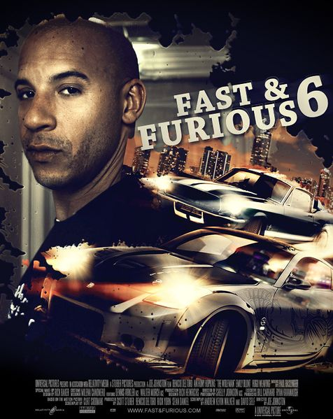 Fast and Furious 6 DVD Release
