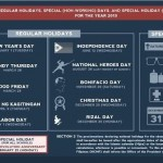 Philippine National Holidays 2013 Official Lists