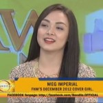 Meg Imperial Stars in Menor de Edad Boy Abunda Interview (Video)