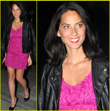 Olivia Munn by Oliver Tolentino gown