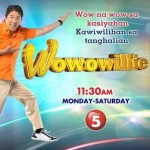 Wowowillie: Willie Revillame's Noontime Show Premieres January, 26