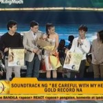 Be Careful With My Heart Soundtrack Awarded Gold Records (Video)