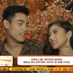 Xian Lim Asked Kim Chiu as Valentine Date (Video)