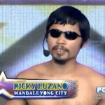 Pacquiao Lookalike Ricky Luzano Kisses Anne & Andi (Video)