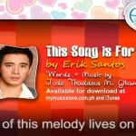 "Erik Santos ""This Song For You"" Himig Handog (Video/Lyrics)"