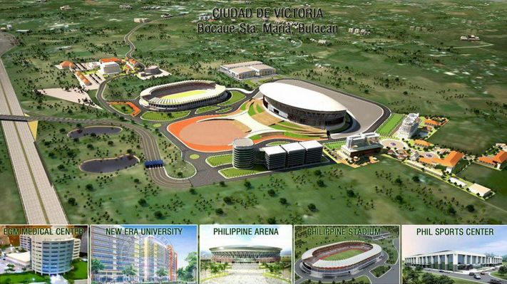 Philippine Arena Inside Basketball at The Philippine Arena
