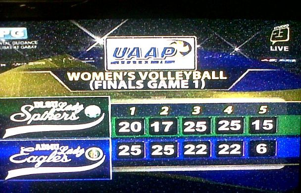 DLSU Defeated Ateneo in Game 1 of the UAAP Women's Volleyball Finals