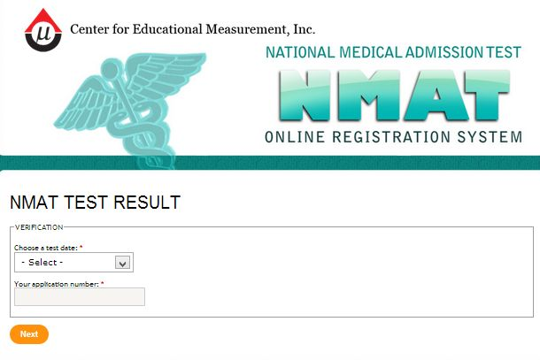 April 2013 NMAT Results Released Online