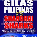 Gilas Pilipinas vs. Shanghai Sharks of China Ticket Details (Prices)
